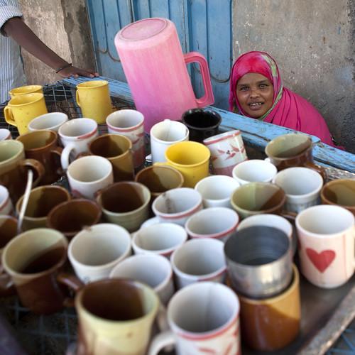 Hatful Of  Mugs In Cafe - Boorama Somaliland