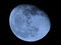 """Waning """"Worm Moon"""" - March 10, 2012 (spacemike) Tags: sky moon mare charlotte space northcarolina luna craters crater astrophotography astronomy nightsky charlottenc lunar wormmoon charlottenorthcarolina astromike waningmoon sx30 sx30is spacemike"""