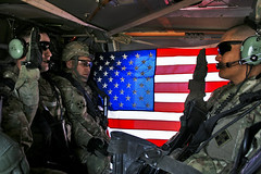Black Hawk reenlistment (The U.S. Army) Tags: afghanistan soldier helicopter af blackhawk kandahar reenlistment warhorse 4thinfantrydivision 2ndbrigadecombatteam 2ndbct4thid