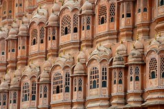 Hawa Mahal (Saumil U. Shah) Tags: travel pink summer india history tourism beautiful architecture sandstone mahal landmark palace tourist historic getty summerpalace breeze iconic jaipur rajasthan hawamahal gettyimages shah hawa pinkcity palaceofthewinds  saumil  incredibleindia     saumilshah