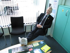 "Here I am sporting my trainers on Commonwealth Day • <a style=""font-size:0.8em;"" href=""http://www.flickr.com/photos/78019326@N08/6981887543/"" target=""_blank"">View on Flickr</a>"