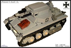 Lego ww2 -Panzer I Ausf. A- (=DoNe=) Tags: 2 by viktor model war lego made custom done panzer wolrd a ausf i legoww2panzeriausfa