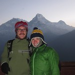 "Us with Annapurna Range <a style=""margin-left:10px; font-size:0.8em;"" href=""http://www.flickr.com/photos/14315427@N00/6988432167/"" target=""_blank"">@flickr</a>"