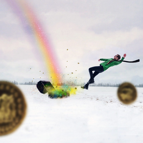 at the rainbow's end