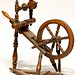 80. Antique Miniature Spinning Wheel