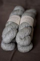stash update (a shrill caramel) Tags: wool loft stash knitting yarn brooklyntweed
