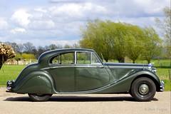 1949 Jaguar Mk V 3.5 Litre saloon (ClassicarGarage / Marc Vorgers) Tags: green grey gris groen metallic sony sigma grau vert v marc jaguar 35 saloon mk 1949 slt litre grijs a77 70200f28 mk5 grun metallique imparts vorgers classicargarage