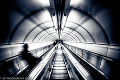 The Labyrinth [EXPLORED] (Aaron Yeoman) Tags: city uk greatbritain travel england people urban man cold london lines station metal architecture modern stairs underground subway europe arch metro unitedkingdom sony curves escalator transport steps perspective railway tunnel arches line staircase transportation gb commuter tubestation londonunderground escalators subwaystation alpha curve vignetting vignette hdr highdynamicrange futuristic thetube metrostation tfl bankstation lul theunderground undergroundstation rapidtransit bankundergroundstation a700 metropolitanrailway banktubestation sonyalpha700 dslra700 bankmonumentstation bankmonumenttubestation bankmonumentundergoundstation