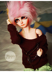 Sweetheart of my Heart. ( sugaredmuffin (aka. bulletsbanq)) Tags: hands doll song wig bjd rs malice msd jointed spite dollzone resinsoul resinsoulsong