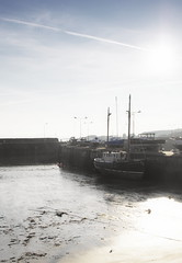 Boats in the afternoon sunlight (Neillwphoto) Tags: st boats harbour monans