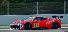 Ferrari 458 Challenge / Kessel Racing (Renzopaso) Tags: barcelona test private photos picture ferrari motor catalunya 69 circuit motorsport 2014 458 kesselracing