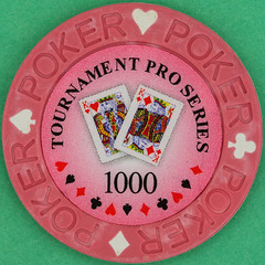 TOURNAMENT PRO SERIES 1000 (Leo Reynolds) Tags: gambling canon eos iso100 casino poker button marker chip squaredcircle 60mm token f80 buck pokerchip 40d hpexif 0033sec 033ev xleol30x sqset103 xxx2014xxx