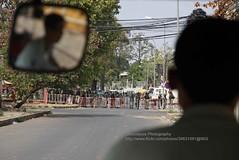 Phnom Penh, garment workers demonstration, block (blauepics) Tags: city camp people demo cambodia kambodscha khmer police menschen stadt violence worker block raid demonstrations polizei phnom penh barricade garment gewalt stürmung kambodschaner sperrung barrikade textilarbeiter