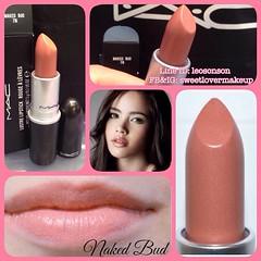 MAC Cosmetics Lipstick 100% Authentic  ขนาดจริง พร้อมกล่อง NAKED BUD เนื้อ LUSTRE ไม่แห้ง ไม่วาวเกินไป สีนู๊ดเบาๆ ใช้ได้ตลอด LIMITED EDITION  ✨MADE IN USA✨  จำหน่าย 810฿  ราคาพิเศษ 690฿ +50฿ EMS   จำหน่าย ปลีก ส่ง เครื่องสำอางค์ ทั้งเค๊าเตอร์ไทย และ อเมริ