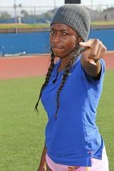D104259A (RobHelfman) Tags: sports losangeles track highschool practice crenshaw candycejohnson