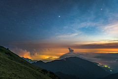 (Digital_trance) Tags: sunset sky cloud sun moon mist bird fog forest sunrise landscape star farm space wildlife taiwan   universe taroko meteor     milkyway      hehuan     wuling startrail                      14   hehuanmoutain      tarokonationpark   14