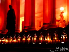 All rights reserved Collette Rawlinson (Collette Rawlinson) Tags: red st liverpool for hall justice candles steps flame disaster fans georges hillsborough 96 jft96