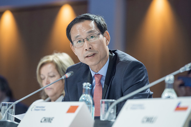 Jeong-ho Choi at the Closed Ministerial Session