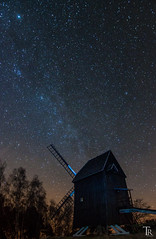 German starry sky (Astro-Foto-Tom) Tags: windmill night nightscape astrophotography sterne milkyway windmhle longtimeexposure prietzen sternenpark glpersee milchstrase tokina1116 westhavelland nanotracker