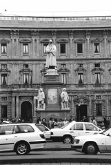 Italy.  March 29th.-April 3rd. 1998 (Cynthia of Harborough) Tags: people art cars architecture squares 1998 monuments palaces