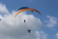 A IMG_5068 (angharad.barrett) Tags: sky beautiful canon happy flying colourful paragliding gliding parachute abergavenny d700