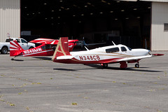 Private Mooney M-20TN N348CB (jbp274) Tags: airport airplanes mooney cno m20 kcno