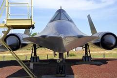 SR 71 Blackbird (<<Purple Bullet>>) Tags: a6000 aircraft blackbird castle fastest military museum plane sony spy sr71 air b17 b24 b29 b36 b47 b52 vulcan bomber fighter sonya6000 zeiss
