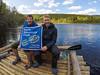 Rafting in Sweden (www.AlastairHumphreys.com) Tags: travel river slow sweden adventure klarälven rafting raft huck finn huckleberryfinn youthadventuretrust