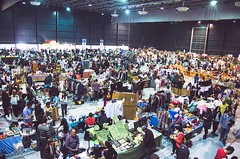 Mercazoco Abril Gijón Feria de Muestras panorámica market