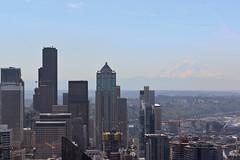 Seattle (psychostretch) Tags: seattle mountrainier tahoma cascaderange