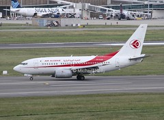 Air Algerie                               Boeing 737-600                                        7T-VJS (Flame1958) Tags: toulouse tls 737 1365 0516 b737 2016 boeing737 7376 toulouseairport boeing737600 airalgerie toulouseblagnac 7tvjs b7376 190516 airalgerieb737