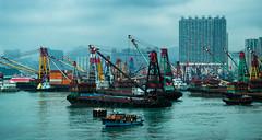 Hong Kong (nickriviera73) Tags: china travel water ferry skyline hongkong boat asia waterfront pentax k20d