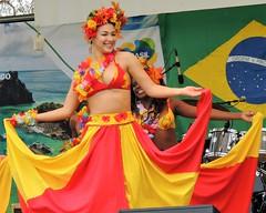 Brazil day dancers (bokage) Tags: dance costume dress dancing sweden stockholm brazilday kungstrdgrden bokage