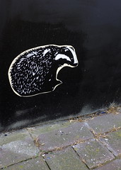 Badger Southsea (Claire_Sambrook) Tags: streetart streets walk badger portsmouth seafront southsea southseaghetto