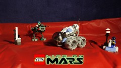 Life on Mars Set Alternatives (MCLegoboy) Tags: set hub model lego alien rover astronaut walker marker tracker alternative martian combination moc lifeonmars myowncreation