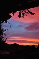framed light (ladybugdiscovery) Tags: sky colour silhouette clouds dusk