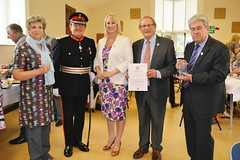Group with Lord Lieutenant 2