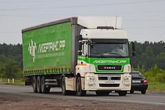 KamAZ-5490   177  116 (RUS) (zauralec) Tags: kurgancity therouter254irtysh kamaz5490  177  116 rus
