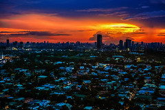 Father's Day Sunset (Daniel Y. Go) Tags: sunset night landscape fuji philippines manila libis twlight xpro2 fujixpro2