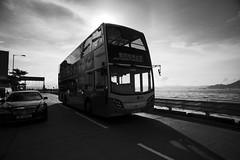 (Stephen Lam Hon Wai) Tags: bus hongkong nikon sunday transportation 20mm vivitar 113 westerndistrict ahotday d700 hongkongg