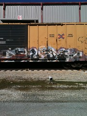 GESO IBD PVC (Casper..) Tags: graffiti trains pvc freights geso ibd benching