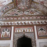 "Paintings at the Raj Mahal <a style=""margin-left:10px; font-size:0.8em;"" href=""http://www.flickr.com/photos/14315427@N00/6776490884/"" target=""_blank"">@flickr</a>"