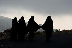Women in black (Zalacain) Tags: black women veil young middleeast hijab dramatic yemen niqab burka khimar harazmountains gettyimagesmiddleeast