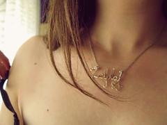 9th week (Zeljka_R) Tags: hair neck necklace skin shoulder