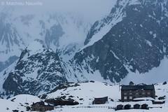 Col du Grand Saint Bernard [1] (https://www.facebook.com/MirwaisPhotographie) Tags: italy snow ski mountains alps saint bernard alpes de italia suisse grand hospice du liberté neige italie randonnée chanoînes