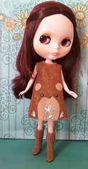 Rosemary in her Bear Dress by LD