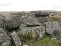 Higher Swincombe Rocks Dartmoor SX 6351 7198 (Bridgemarker Tim) Tags: boulders dartmoor rockpiles outcrops lesserknowntors swincomberiver