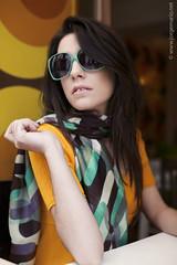 60's Fashion (Ines Aullo) Tags: girl sunglasses fashion bar design 60s retro catalogue jorgemario inesaullo miguelangelgomez