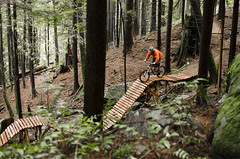 Roller Coaster (Jeremy J Saunders) Tags: bike mountainbike northshore rollercoaster ladder fromme trekscratch