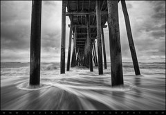 The Stand - Rodanthe Pier Cape Hatteras Outer Banks NC (Dave Allen Photography) Tags: ocean longexposure travel sea vacation blackandwhite bw motion art beach nature water beautiful landscape outdoors photography coast landscapes pier wooden nc movement nikon exposure slow cloudy fineart wide scenic northcarolina wideangle stormy hatteras motionblur coastal carolina cape poles flowing outerbanks seashore f28 obx fishingpier daveallen capehatteras rodanthe 1735mm nationalseashore woodenpier d700 lightroom3 mygearandme mygearandmepremium mygearandmebronze mygearandmesilver mygearandmegold mygearandmeplatinum mygearandmediamond